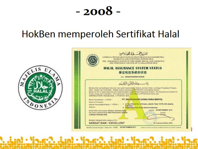sertifikat halal hokben